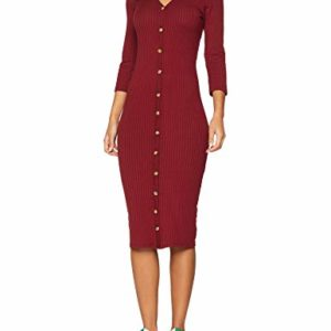 New Look Button Rib Robe Femme 0 300x300 - mode, passion - New Look Button Rib, Robe Femme