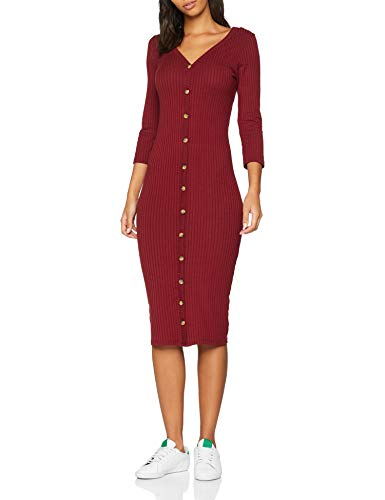 New Look Button Rib Robe Femme 0 - mode, passion - New Look Button Rib, Robe Femme