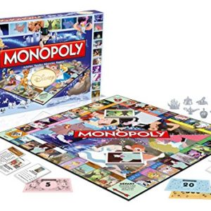 Winning Moves - 0932 - Monopoly Disney Classic - Version Française 2