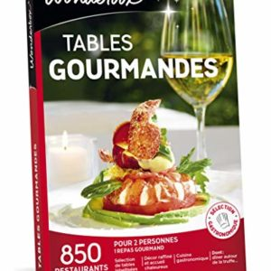 Wonderbox - Coffret cadeau couple- TABLES GOURMANDES – 1400 restaurants renommés, brasseries chics 18