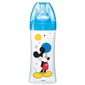 dodie Biberon Initiation Mickey Bleu 330 ml 6+ Mois 1007400 38