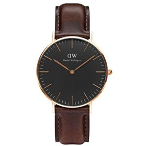 Daniel Wellington Mixte Analogique Quartz Montre DW00100137 19