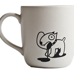 Propagande D. pour Chien Hungry Tasse, Blanc 58
