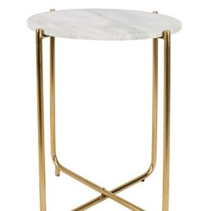 Felis Lifestyle Side Table TIMPA Marble White, Marbre, Blanc, 44,5x44,5x54 cm 26