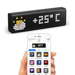 LaMetric Time : horloge Wi-Fi avec applications 2