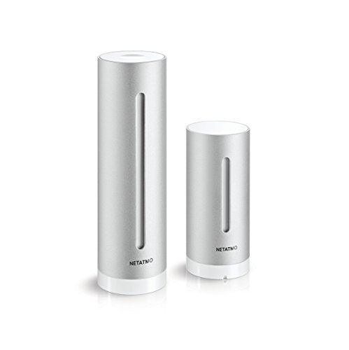 Netatmo Station Météo Intérieur Extérieur Connectée Wifi, Capteur Sans fil, Thermomètre, Hygromètre, Baromètre, Sonomètre, Qualité de l'air - Compatible Amazon Alexa et Apple Homekit, NWS01-EC 3