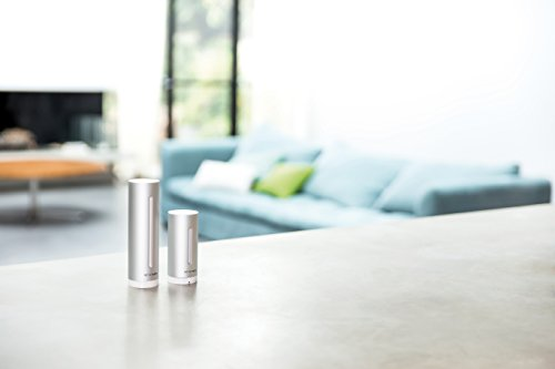 Netatmo Station Météo Intérieur Extérieur Connectée Wifi, Capteur Sans fil, Thermomètre, Hygromètre, Baromètre, Sonomètre, Qualité de l'air - Compatible Amazon Alexa et Apple Homekit, NWS01-EC 5