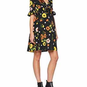 New Look Floral Flute Sleeve Robe Femme 0 300x300 - mode, passion - New Look Floral Flute Sleeve, Robe Femme