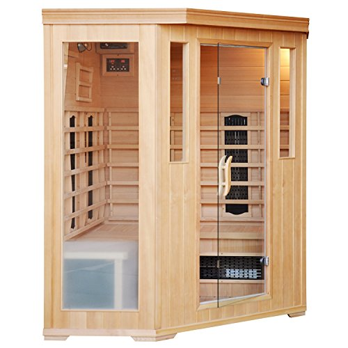 CABINE SAUNA LUXE INFRAROUGE 34 PLACES 0 3 - couple, amour - CABINE SAUNA LUXE INFRAROUGE 3/4 PLACES