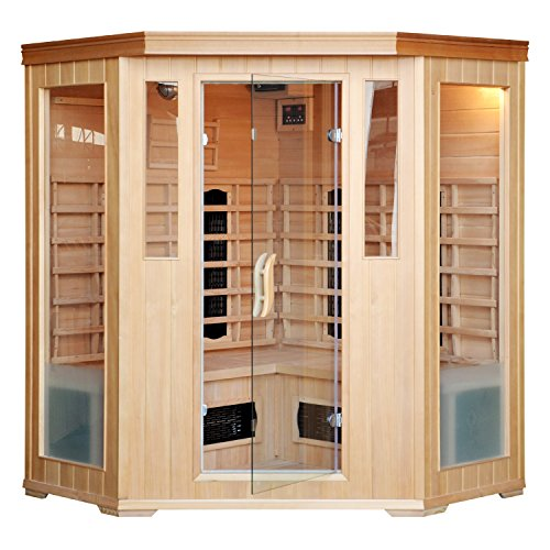 CABINE SAUNA LUXE INFRAROUGE 34 PLACES 0 - couple, amour - CABINE SAUNA LUXE INFRAROUGE 3/4 PLACES