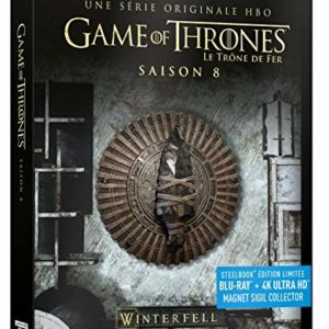 Game of Thrones – Saison 8 Steelbook Edition Limitée (Blu-ray + 4K ultra HD) [SteelBook édition limitée - Blu-ray + 4K Ultra HD + Magnet Collector] 5