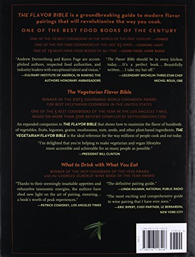 The Flavor Bible: The Essential Guide to Culinary Creativity, Based on the Wisdom of America's Most Imaginative Chefs 2