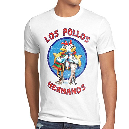 style3 Los Pollos T-Shirt Homme 3