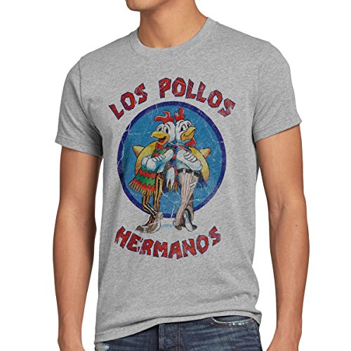style3 Los Pollos T-Shirt Homme 5