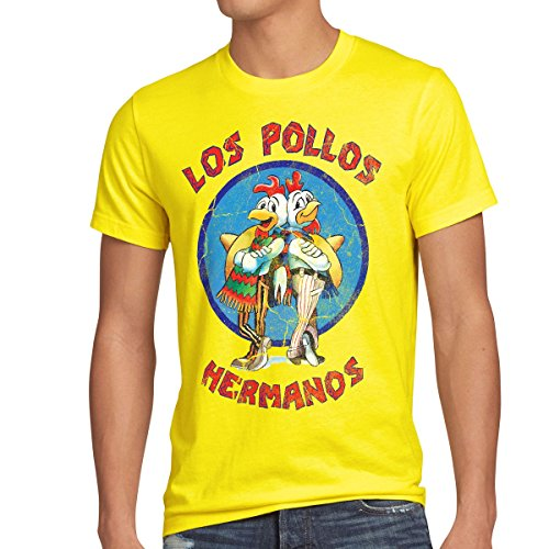 style3 Los Pollos T-Shirt Homme 7