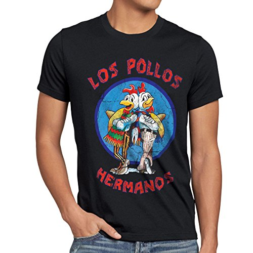 style3 Los Pollos T-Shirt Homme 1