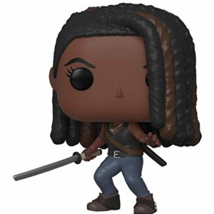 Funko Pop Figurine en Vinyle TV: Walking Dead-Michonne The Collection, 43536, Multicolore 15