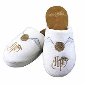 HARRY POTTER Chaussons Vif d'or Blancs et dorés 15