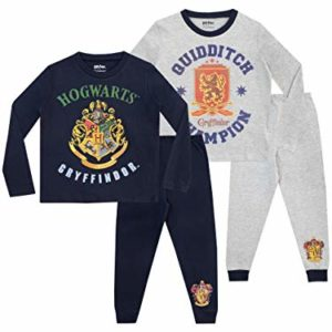 HARRY POTTER - Ensemble De Pyjamas - Paquet de 2 - Poudlard - Garçon 30