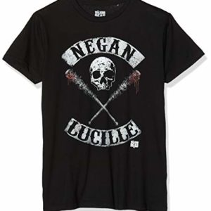 cotton division Negan Lucille Rockers T-Shirt Homme 29