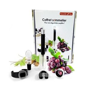 YOKO DESIGN Coffret Sommelier 5 Pieces d'oenologie 42