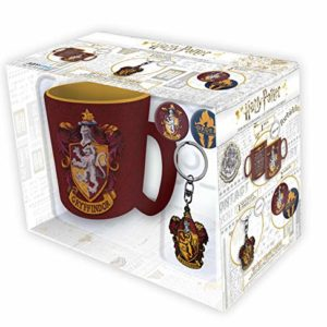 ABYstyle - Harry Potter - Pck Mug + Porte-clés + Badges - Gryffondor - Version Italienne 85