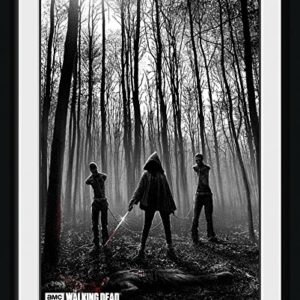 GB Eye LTD, The Walking Dead, Woods, Photographie encadrée 15 x 20 cm 80