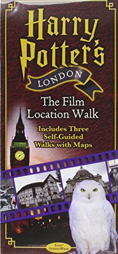 Harry Potter's London the Film Location Walk: Includes Three Self-Guided Walks with Maps 1