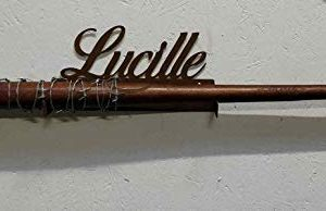 Lucille Support mural pour batte de baseball The Walking Dead Negan 54