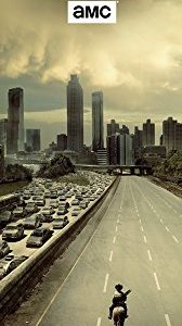 Poster de Porte The Walking Dead City - 53x158cm 89