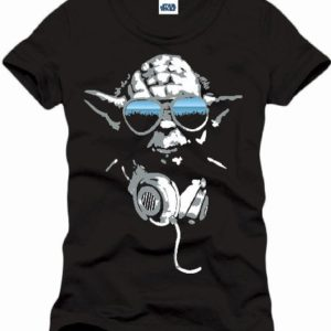 Star Wars Dj Yoda Cool - T-shirt - Imprimé - Col rond - Manches courtes - Homme 90