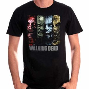 T-Shirt The Walking Dead - 4 Zombies 33