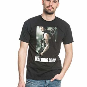 The Walking Dead Daryl Hunter T-shirt noir L 45