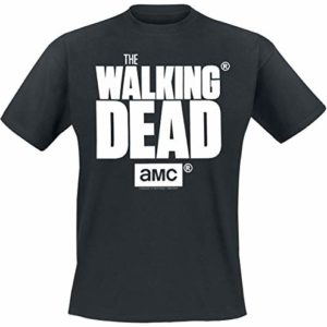 The Walking Dead Logo T-Shirt Manches Courtes Noir 86