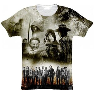 The Walking Dead T-Shirt Homme Sublimation 44