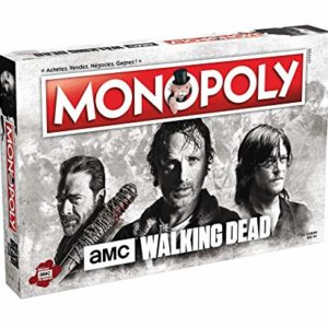 Winning Moves MONOPOLY THE WALKING DEAD AMC-Version Française, 0993, Multicolore 91