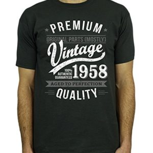 1960 Vintage Year - Aged to Perfection - 60 Ans Anniversaire Homme Cadeaux T-Shirt 3