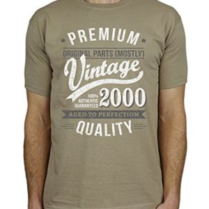 My Generation Gifts 2000 Vintage Year - Aged to Perfection - 18 Ans Anniversaire T-Shirt pour Homme 5
