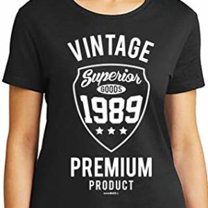 30th Birthday Gifts Cadeaux Anniversaire 30 Ans - Vintage 1989 - T-Shirt Femme 62