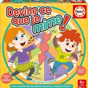 Educa - 16682 - Devine ce que je Mime Refresh 6