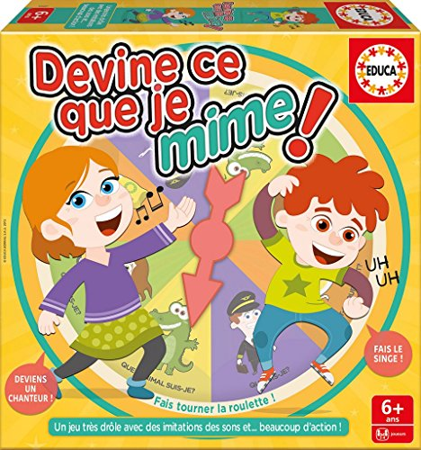 Educa - 16682 - Devine ce que je Mime Refresh 1