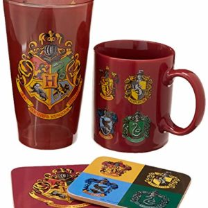 HP - Crests (Mug & Glass, 2 Coasters) 66