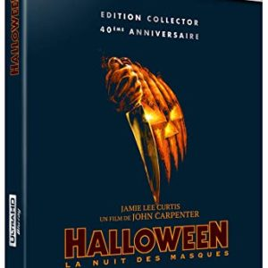 Halloween - 4K Ultra HD [Edition Collector] [4K Ultra HD + Blu-ray - Édition Collector 40ème Anniversaire] 40