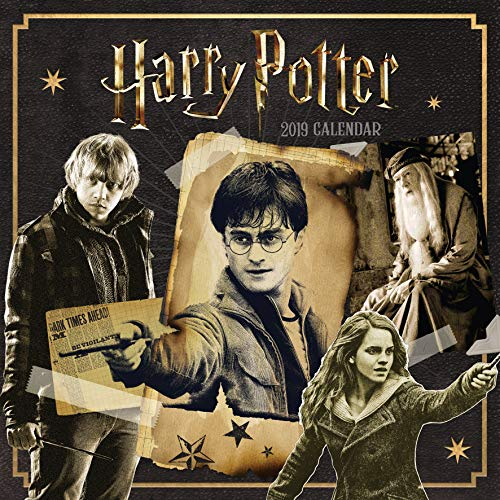 Harry Potter Official 2019 Calendar - Square Wall Calendar Format 1