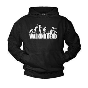 Makaya Sweat a Capuche Walking Dead Noir 3