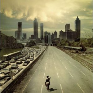 Poster The Walking Dead - city - affiche à prix abordable, poster XXL 56