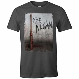 T-Shirt The Walking Dead - Free Negan 14