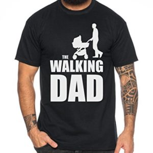 The Walking Dad Hommes T-Shirt Nerd Dead 54