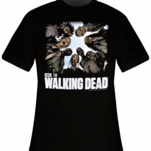 The Walking Dead T-Shirt Homme Walkers - Noir 84