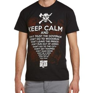 The Walking Dead - T-shirt Homme - Keep Calm 31